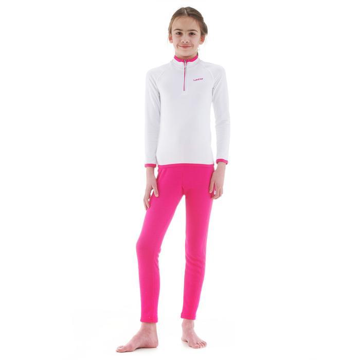 Thermobroek voor skiën 100 voor kinderen roze