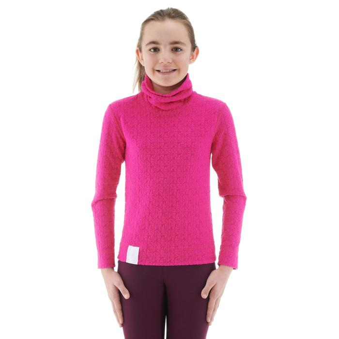 Thermisch skiondershirt 2Warm voor kinderen roze