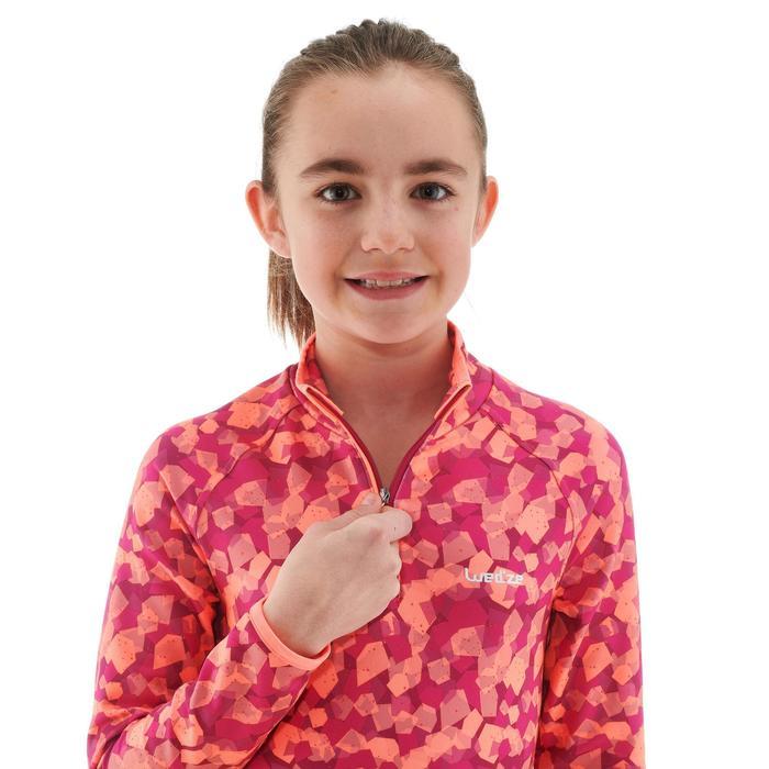 Skiunterhemd Freshwarm 1/2-Reißverschluss Kinder rosa