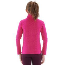 Skiunterwäsche Funktionsshirt 2Warm Kinder rosa
