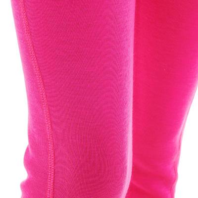 Sous-vêtement bas de ski enfant 100 Rose