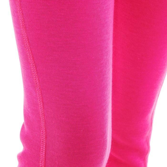 Pantalón térmico esquí y nieve interior Wed'ze Simple warm 100 niños rosa