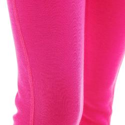 Thermobroek voor skiën kinderen 100 roze
