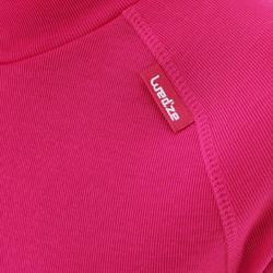 兒童底層滑雪上衣100 - 粉色