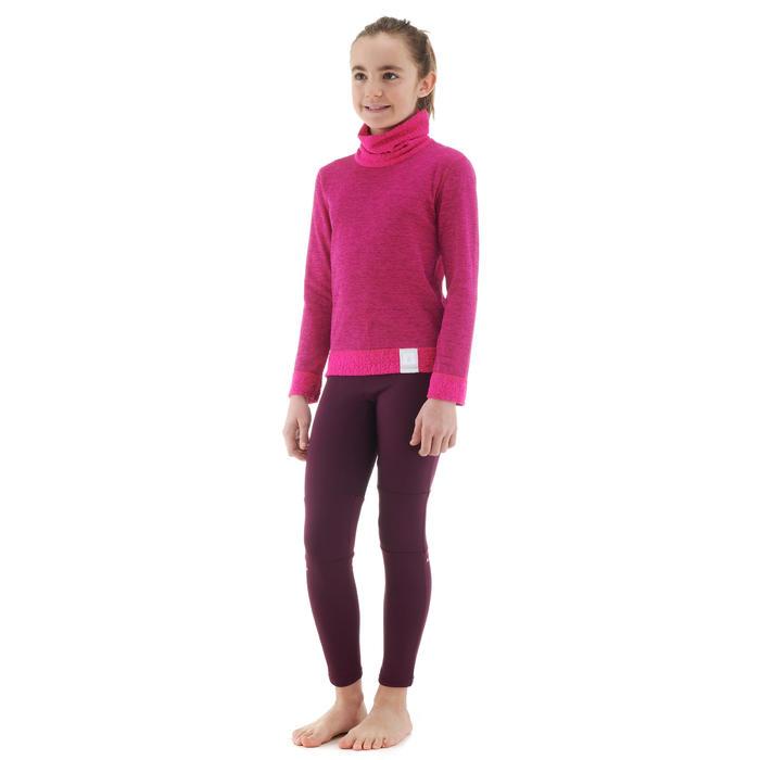 Sous-vêtement haut de ski enfant 2WARM Rose