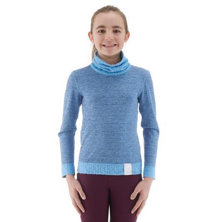 2WARM KIDS' SKI BASE-LAYER TOP - BLUE