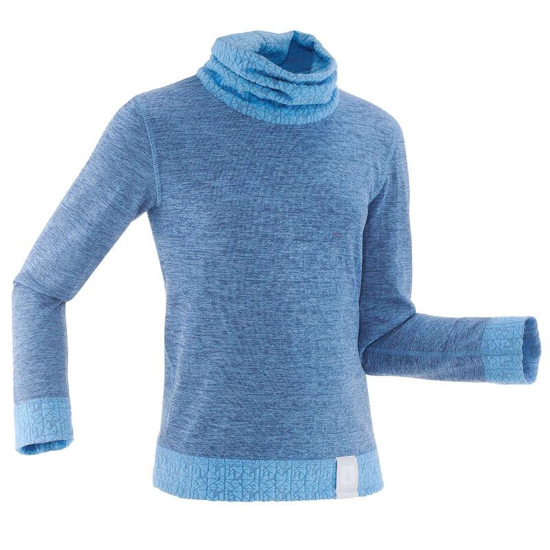 PULOVER SCHI COPII Schi si Snowboard - Bluză Simple 2Warm Copii  WED'ZE - Imbracaminte schi copii