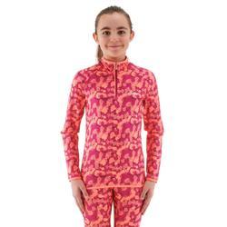 Sous-vêtement haut de ski enfant Freshwarm 1/2 ZIP
