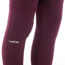 Prenda interior pantalón de esquí júnior Freshwarm Violeta