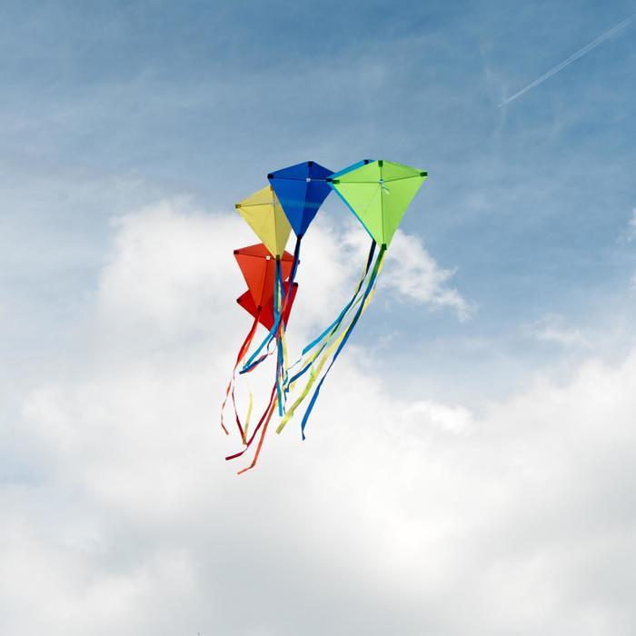 Vlieger MFK 100 lichtblauw