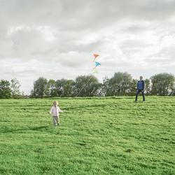 MFK 100 Static Kite - Sky Blue
