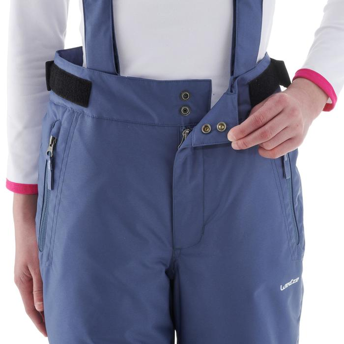Skibroek voor kinderen SKI-P 500 PNF blauw