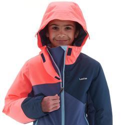 Skipak voor kinderen 500 blauw/koraalrood