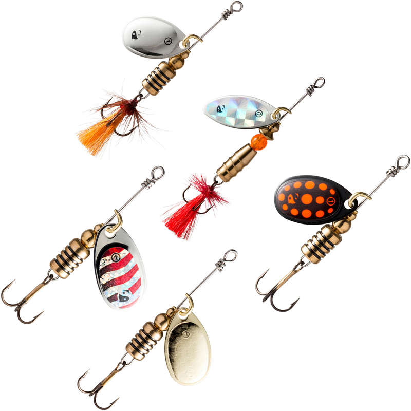 SPOONS TROUT PERCHE Fishing - SPINNER SET SVARTAN NEW CAPERLAN - Pike and Predator Fishing