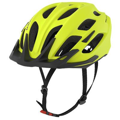 קסדה לרכיבת אופני הרים 500 - צהוב זוהר