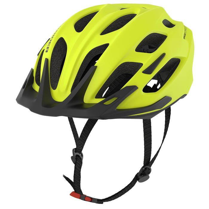 登山自行車運動安全帽 500 MTB - 霓虹黃