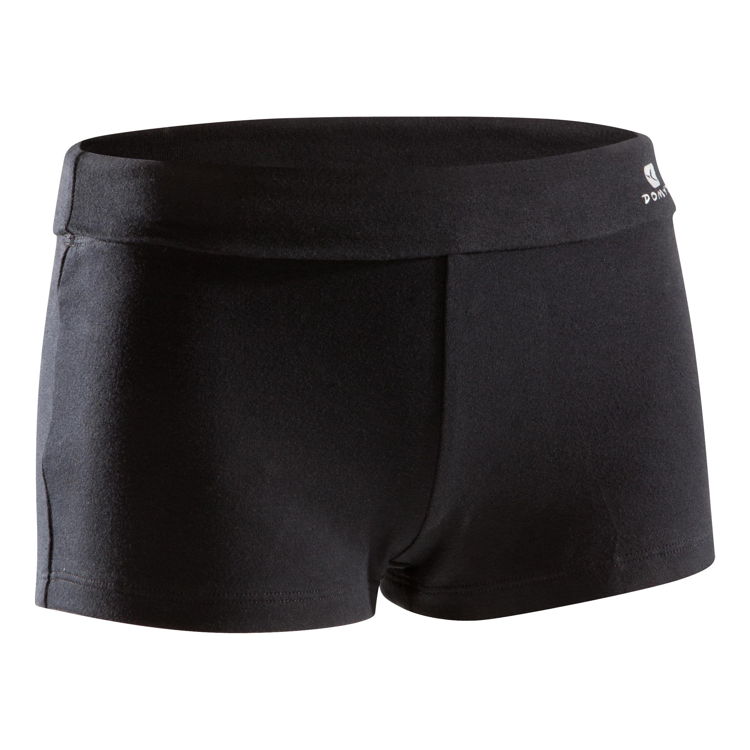 Girls' Mini Dance Shorts - Black