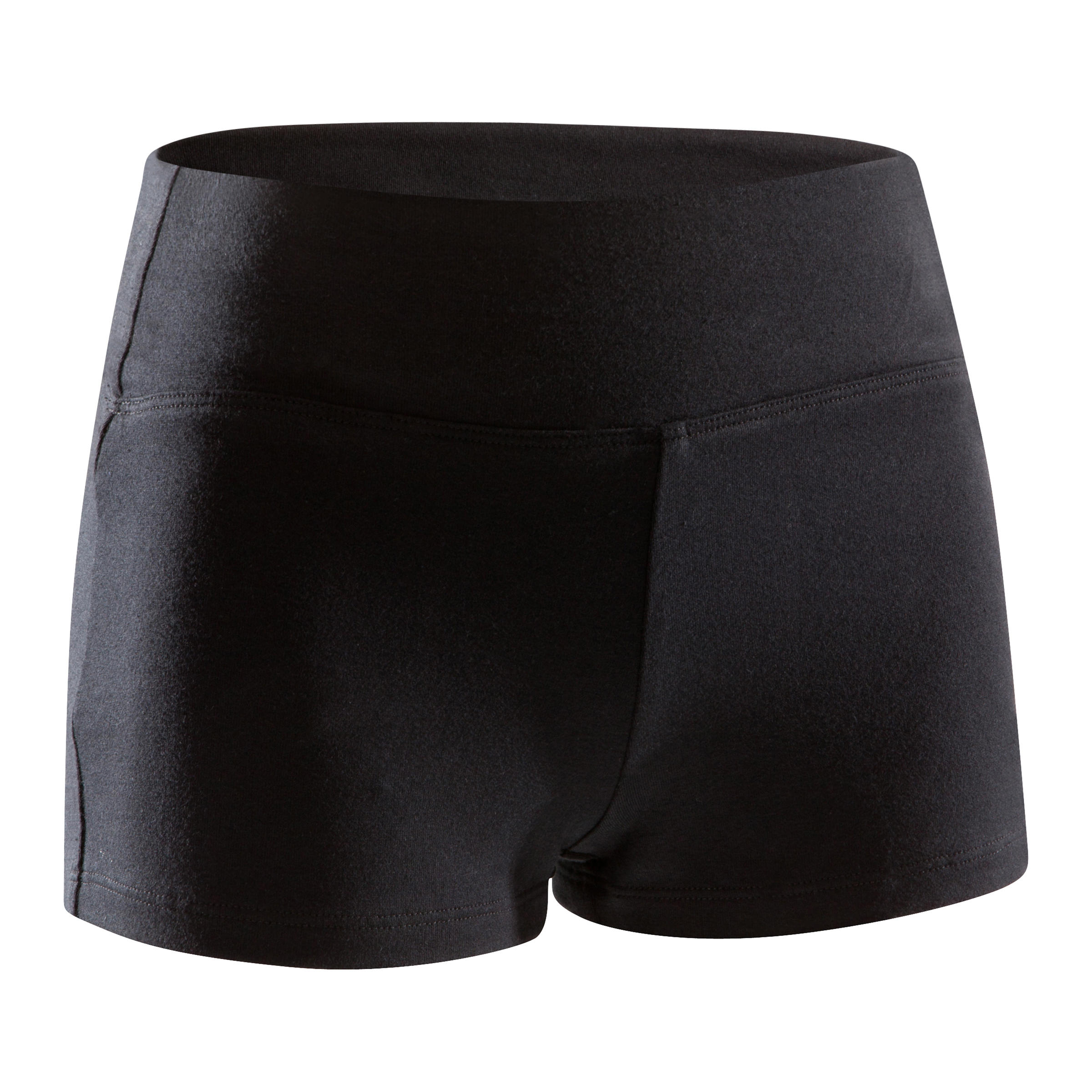 Mini short de danse fille noir