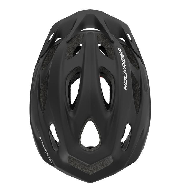 500 登山自行車安全帽 - 黑