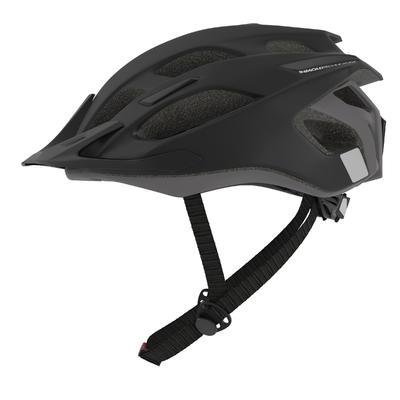 Шолом 500 для гірського велоспорту - Чорний