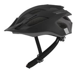 Fahrradhelm MTB 500 schwarz