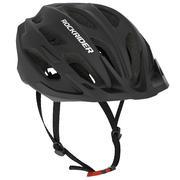 Črna kolesarska čelada za gorsko kolesarjenje 500