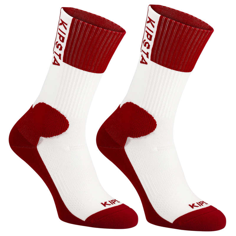 VOLLEY BALL APPAREL Volleyball and Beach Volleyball - V500 Socks - Red ALLSIX - Volleyball and Beach Volleyball