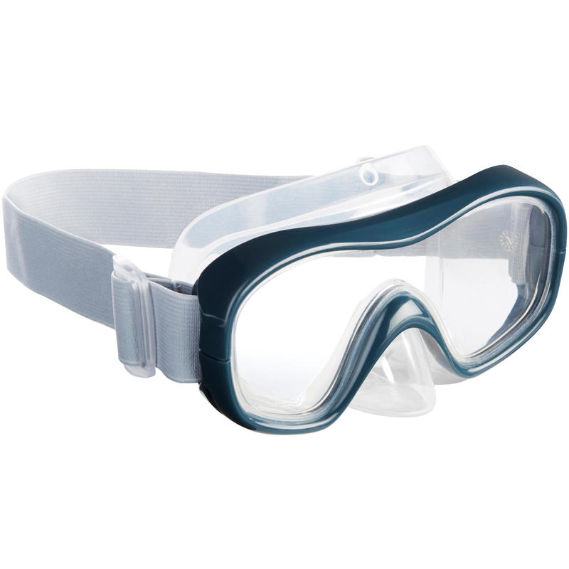 FRD100 freediving mask for adults grey