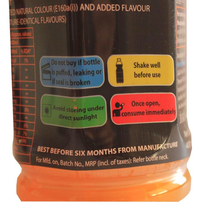 Aptonia Sports Drink 400ml Orange
