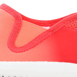 120 adult aquashoes coral pink shading