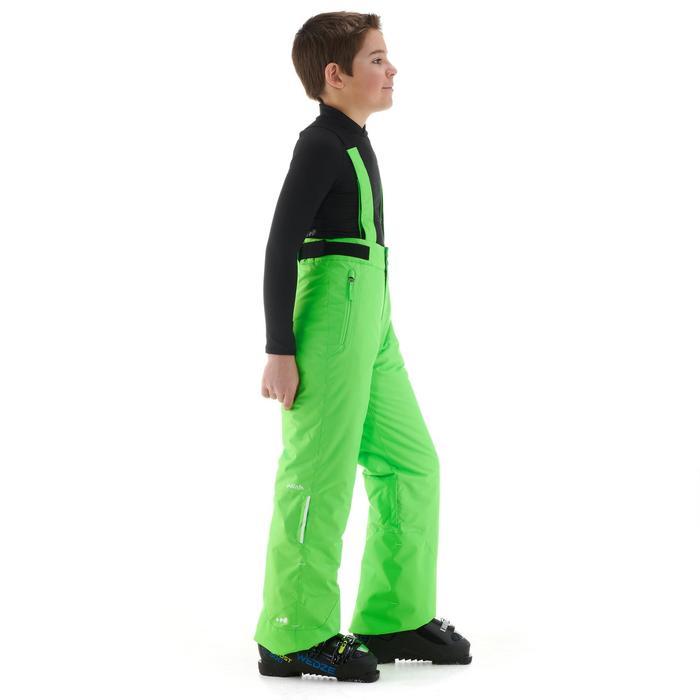 Skihose Piste 500 Kinder grün