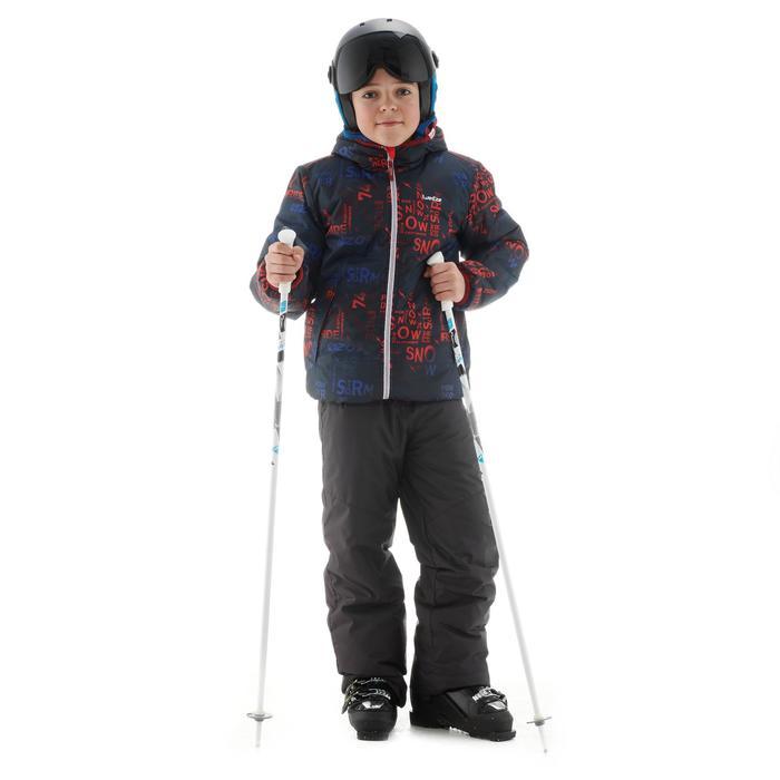 Skibroek voor kinderen SKI-P PA 100 donkergrijs