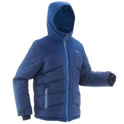 Winterjas kind | Ski jas kind | Warm 500 blauw | Wedze
