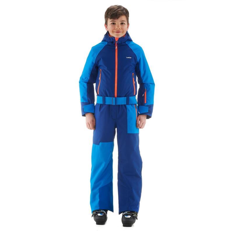 Mono de Esquí y Nieve Niños Wedze Ski-P Suit 500 Azul