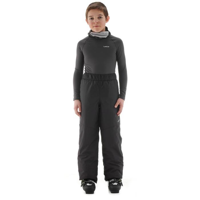 Skihose Ski-P PA 100 Kinder dunkelgrau