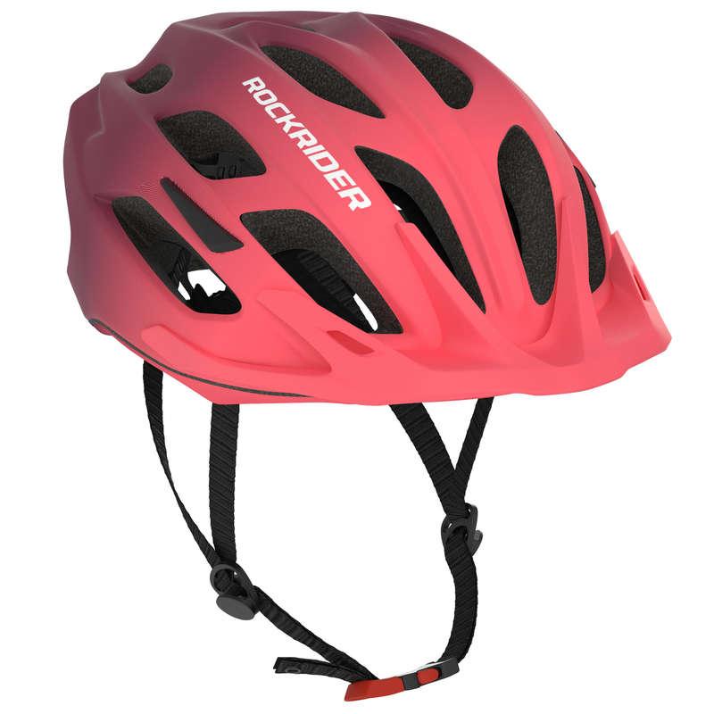 SPORT TRAIL MTB HELMETS ADULT Cycling - 500 Mountain Biking Helmet - Pink ROCKRIDER - Cycling