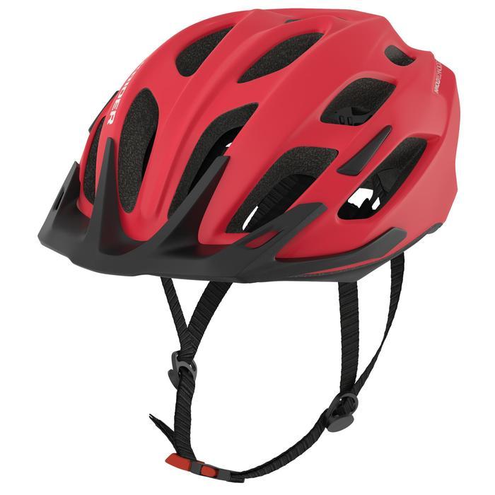 Mountainbikehelm ST 500 rood