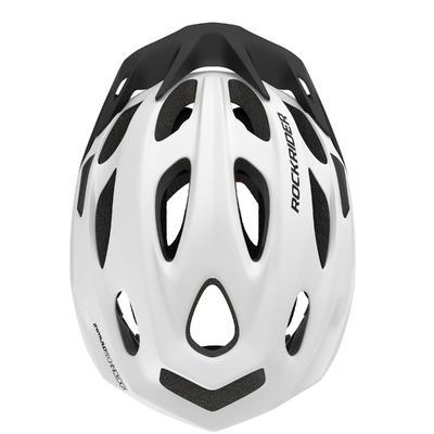 קסדה לרכיבת אופני הרים 500 - לבן