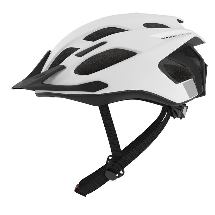 500 Mountain Biking Helmet - White