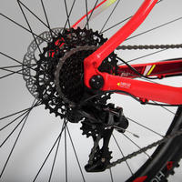 "500 XC Mountain Bike 27.5"" PLUS - Red"