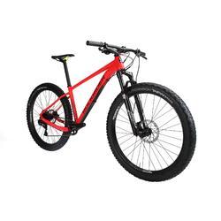 "Mountainbike 27,5"" XC 500 Plus rot"
