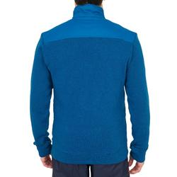 Jersey cálido de vela hombre SAILING 100 azul