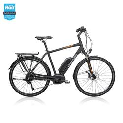 "E-Bike 28"" Trekkingrad Riverside 700 Herren Peformance CX 500Wh anthrazit/orange"