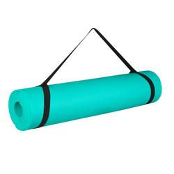 ESSENTIAL 6MM YOGA MAT - GREEN