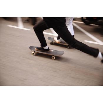 Chaussures basses de skateboard adulte VULCA noire