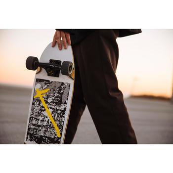 Cruiser Skateboard City Thrasher Ride weiß