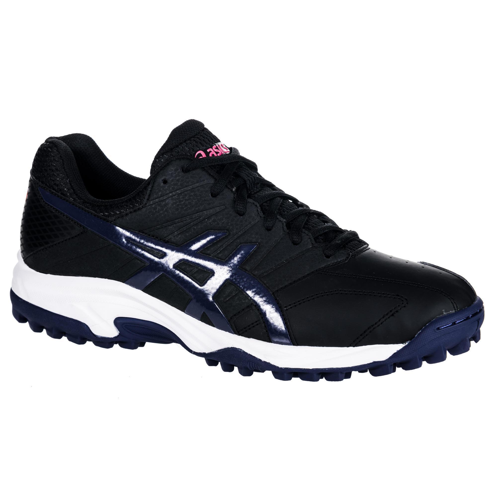 Asics Hockeyschoenen voor heren, gemiddelde intensiteit, Gel Lethal MP 7, zwart