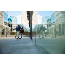 Lage skate-/longboardschoenen Vulca 100 Canvas zwart