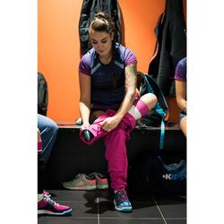 Pantalón de voleibol V 100 mujer rosa
