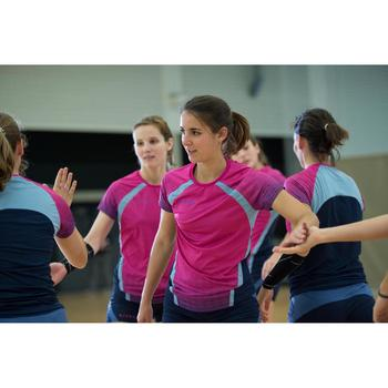 Maillot de volley-ball femme V500 rose